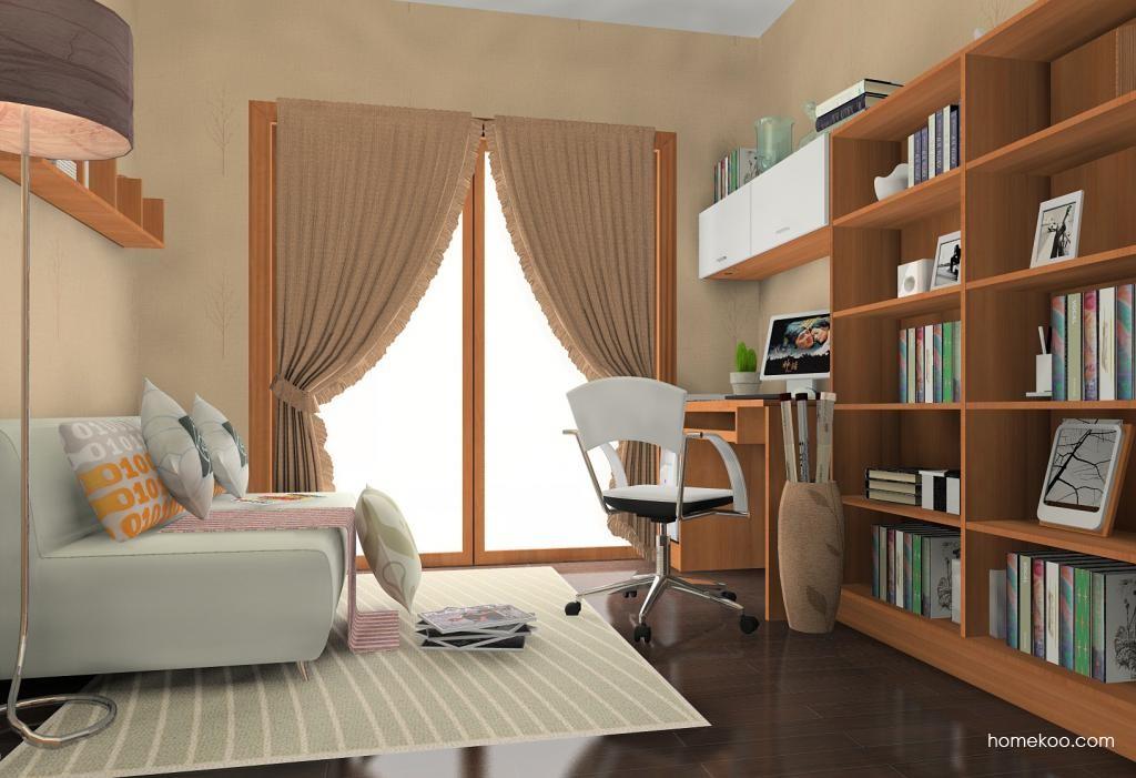 新实用主义书房家具C10812