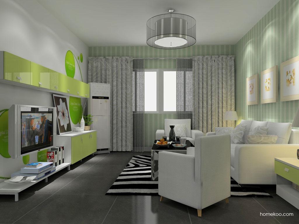 浪漫主义客厅家具D11701