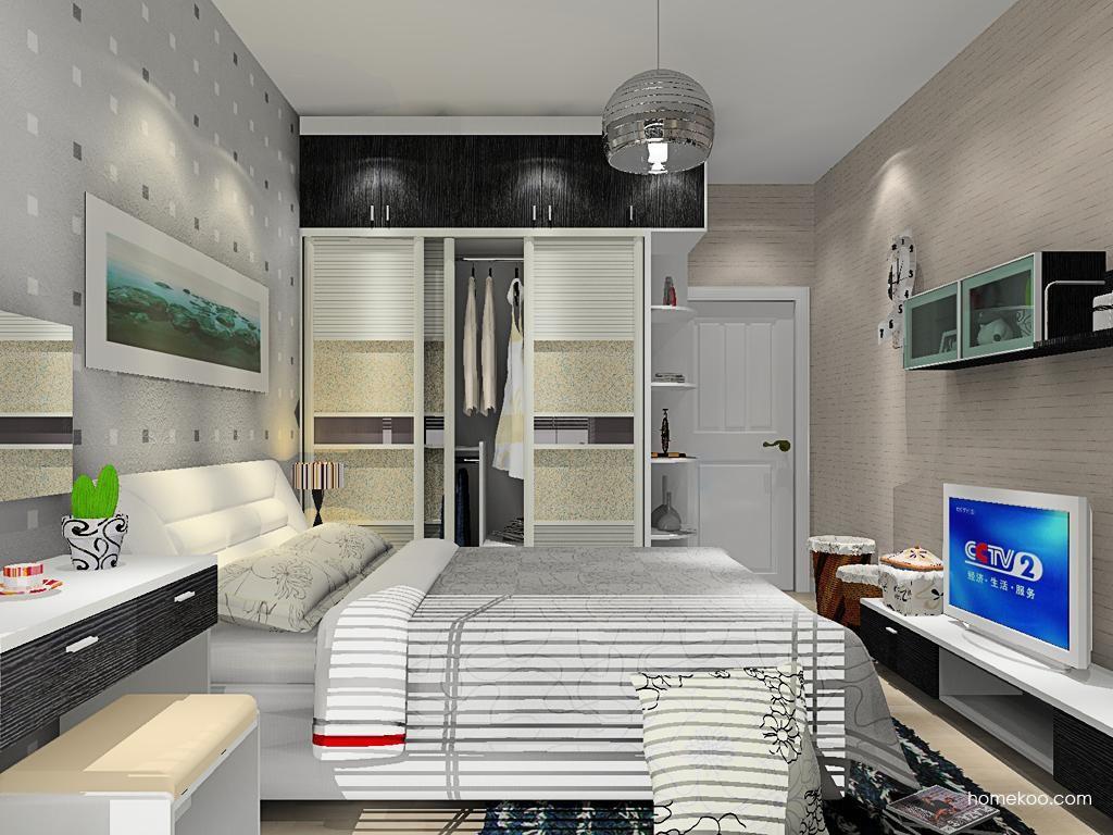 简约主义卧房家具A13034