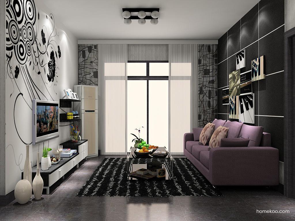 简约主义客厅家具D11737