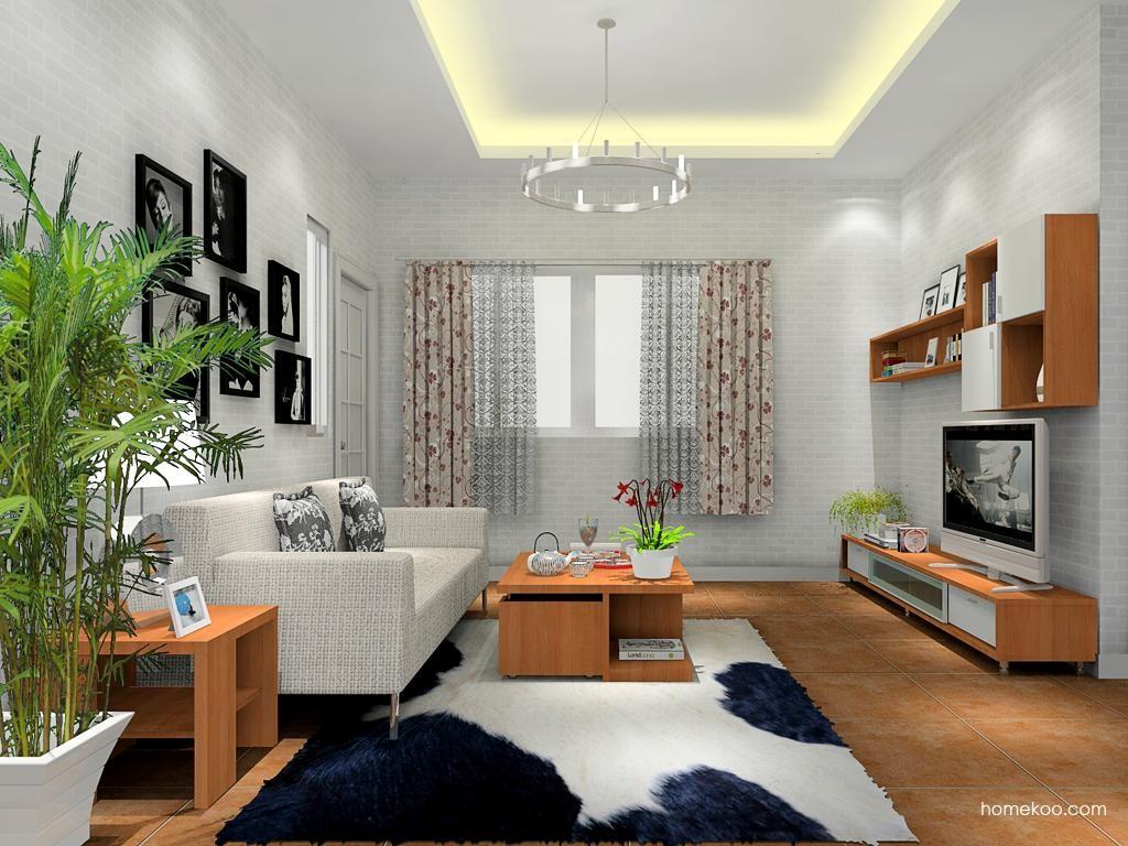 新实用主义客厅家具D11738