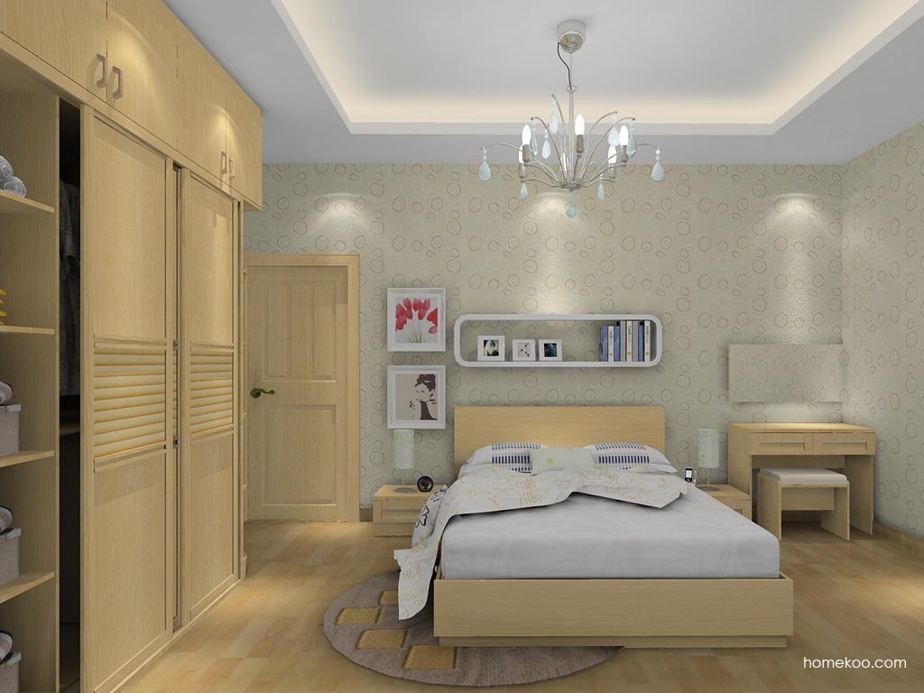 丹麦本色卧房家具A13078
