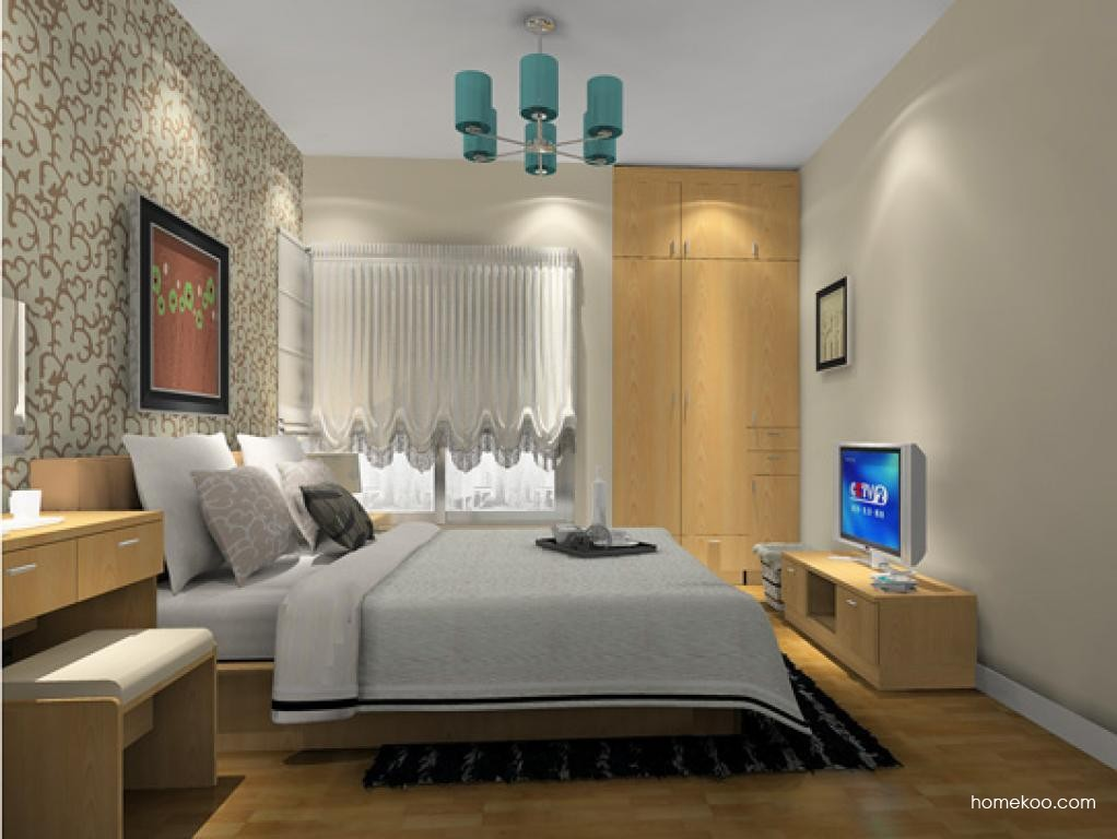 新实用主义卧房家具A13085