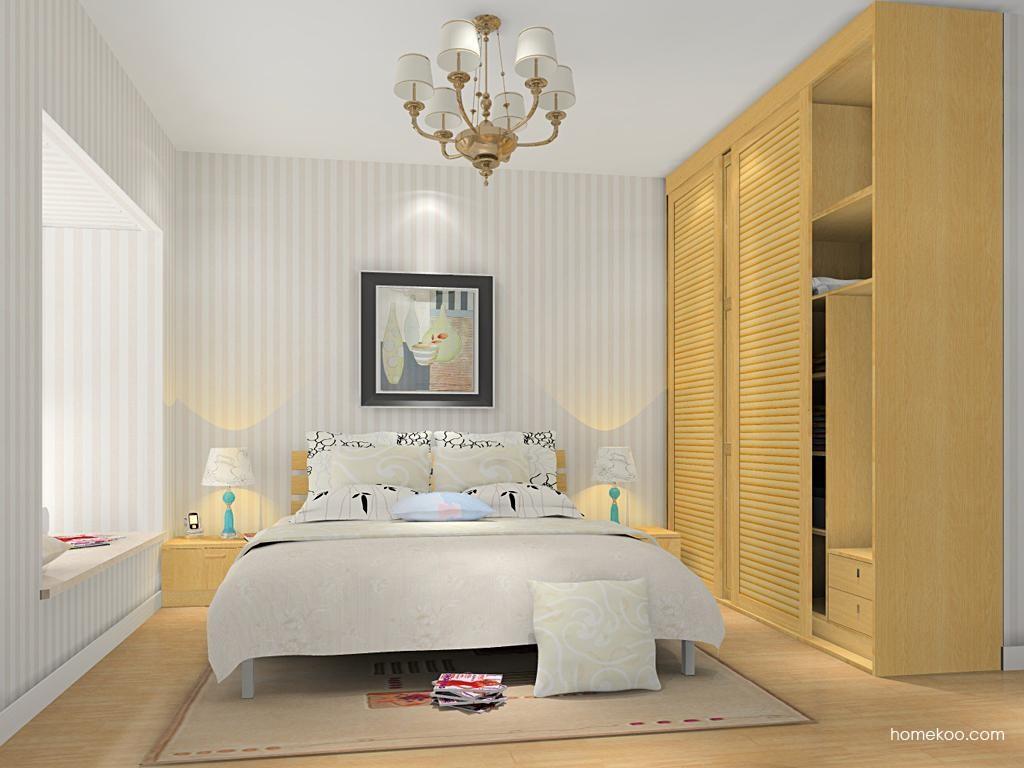 丹麦本色卧房家具A13086
