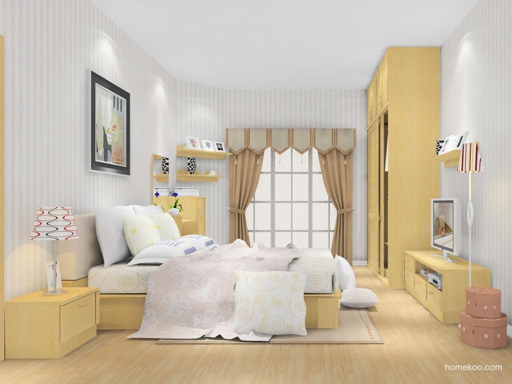 丹麦本色卧房家具A13091