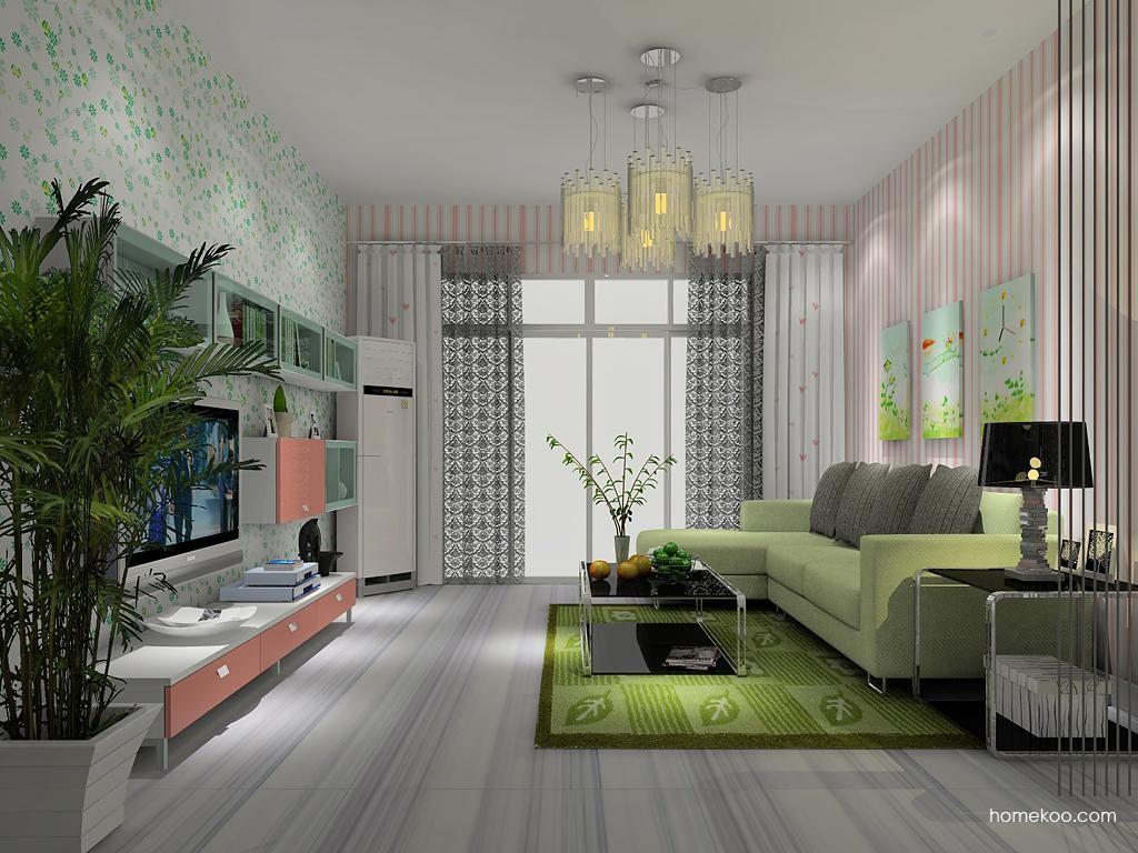 浪漫主义客厅家具D11772