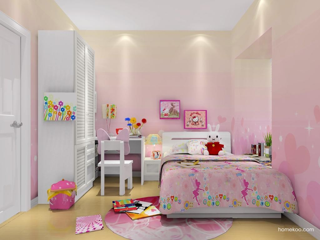 女孩的梦青少年房B11460