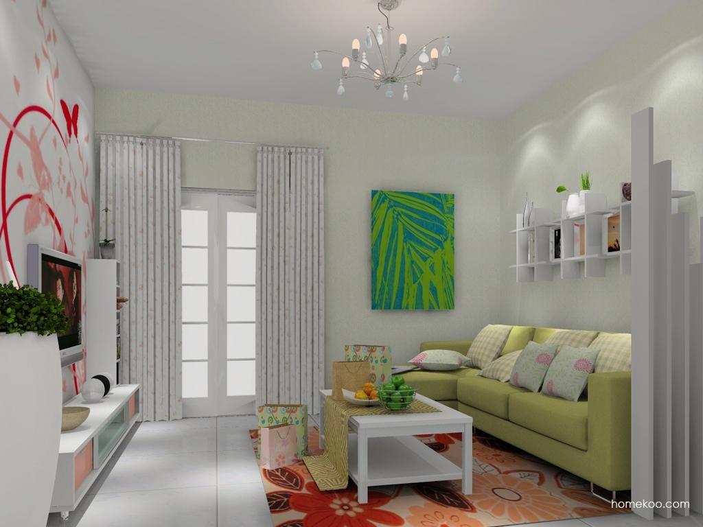 浪漫主义客厅家具D11791