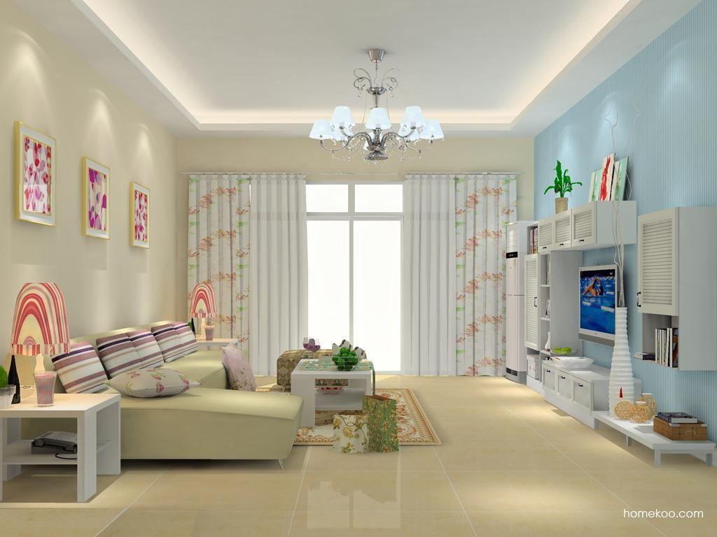 韩式田园客厅家具D11793