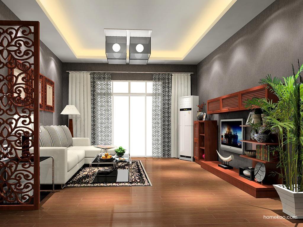新中式主义客厅家具D11814
