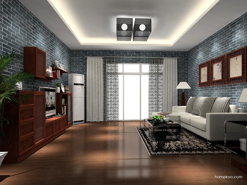 新中式主义客厅家具D11829