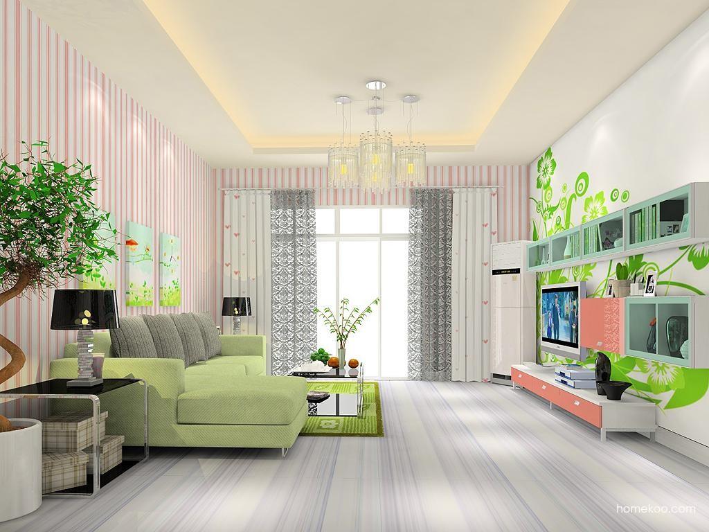 浪漫主义客厅家具D11845