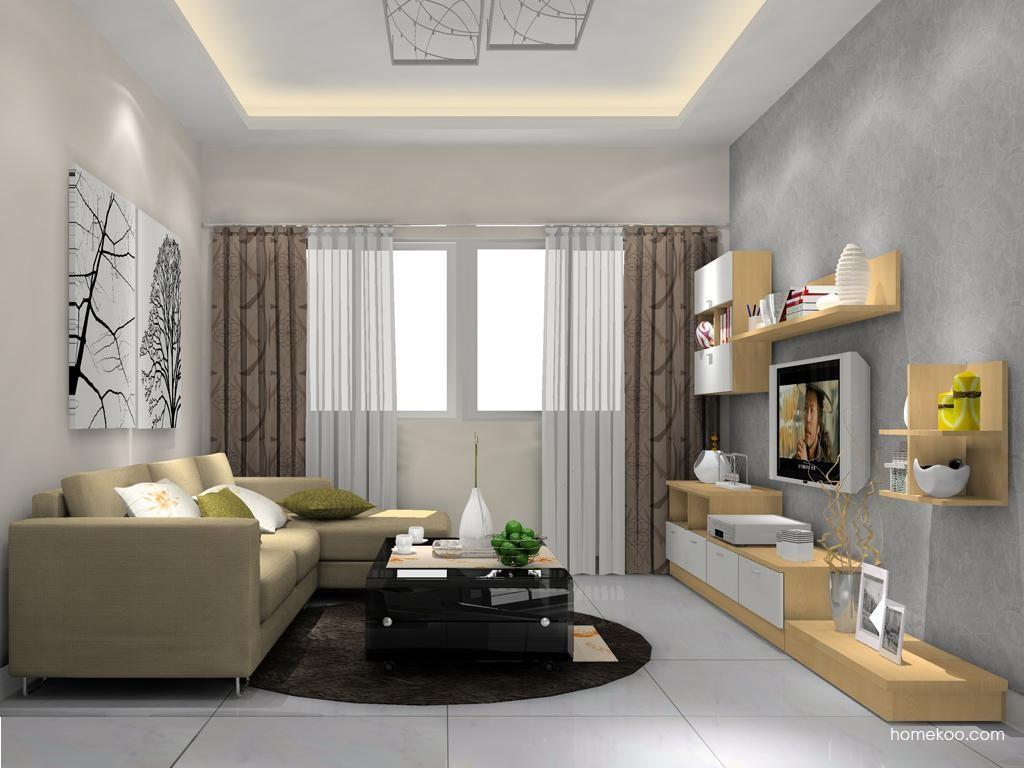 新实用主义客厅家具D11855