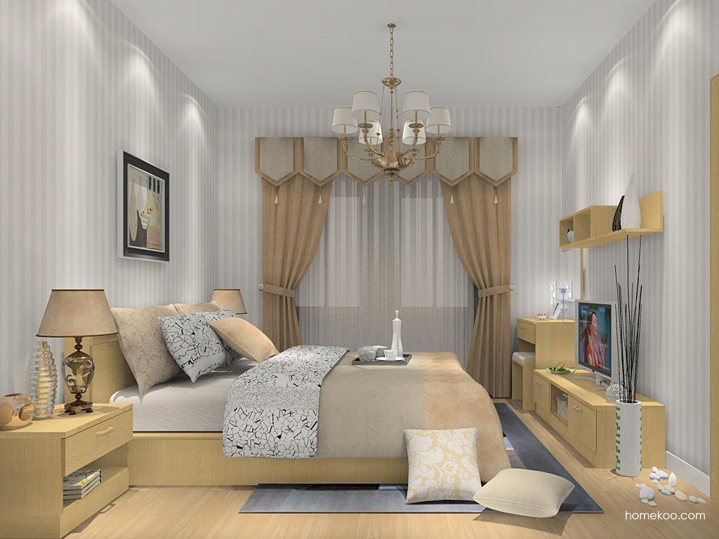 丹麦本色卧房家具A13189