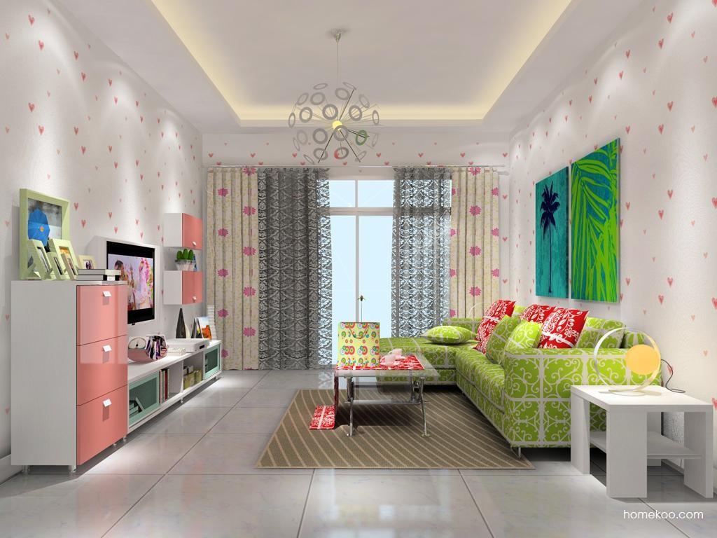 浪漫主义客厅家具D11869