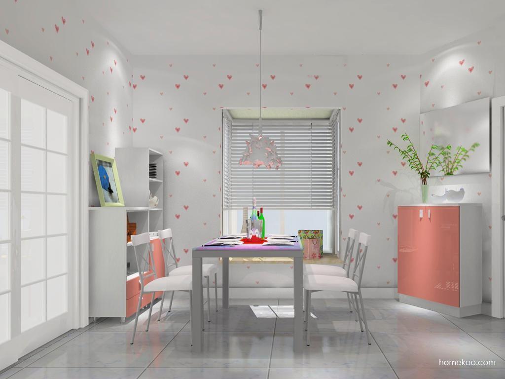 浪漫主义餐厅家具E10045