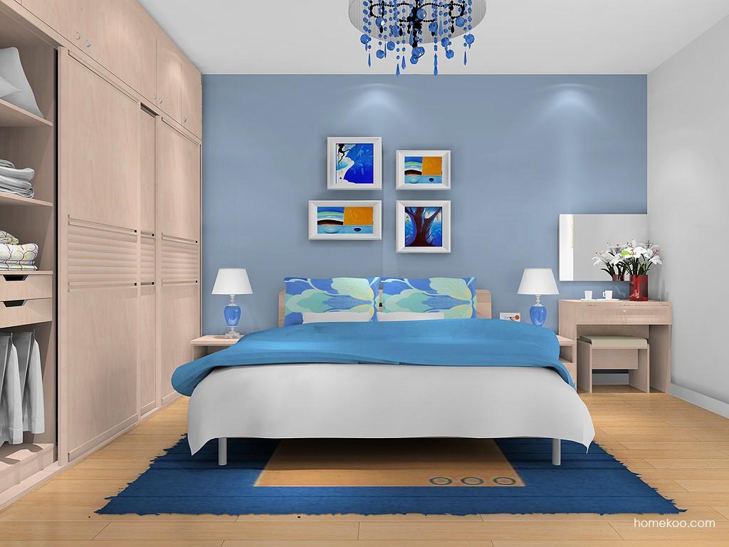 北欧阳光卧房家具A13209