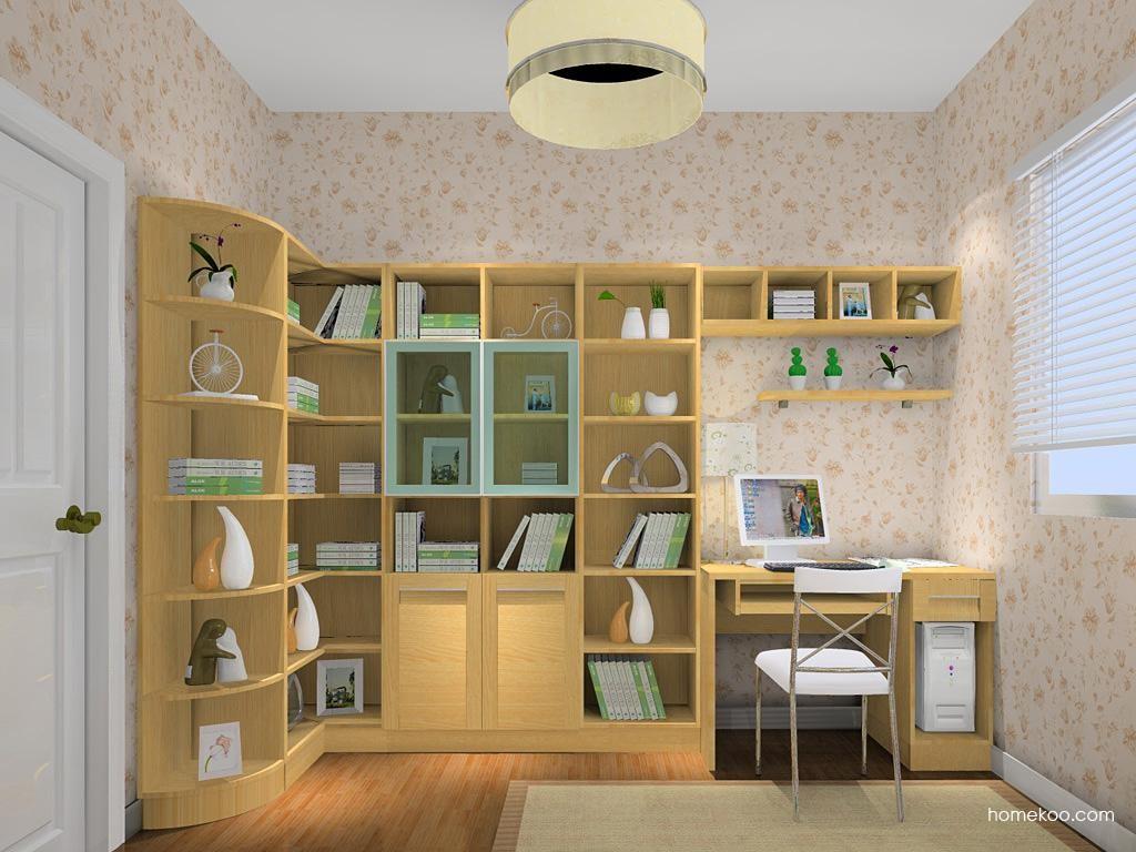 丹麦本色书房家具C10834