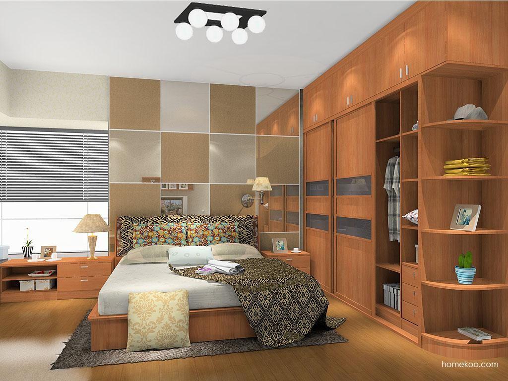 新实用主义卧房家具A13216