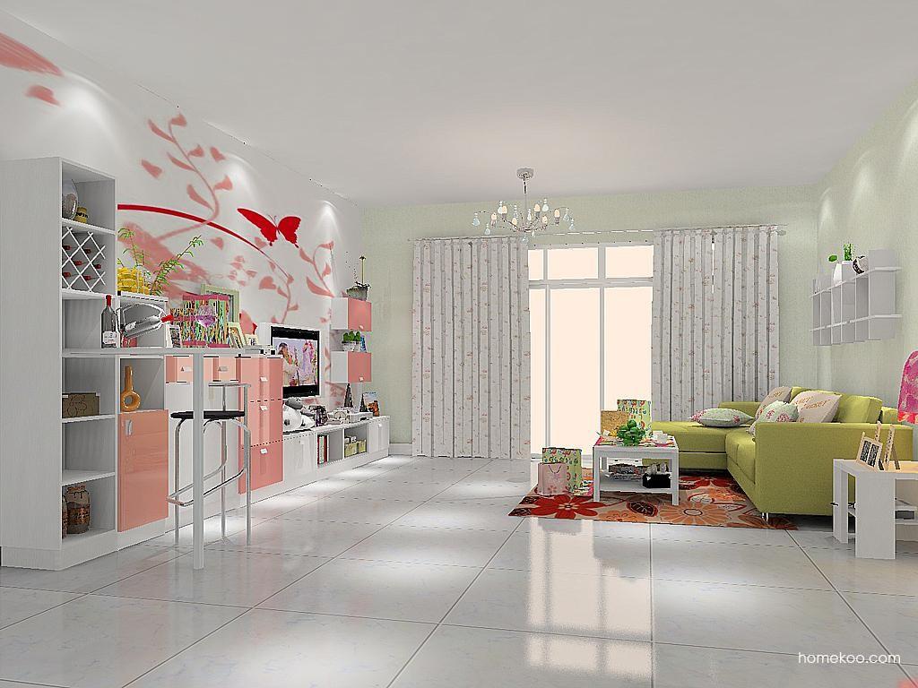 浪漫主义客厅家具D11879