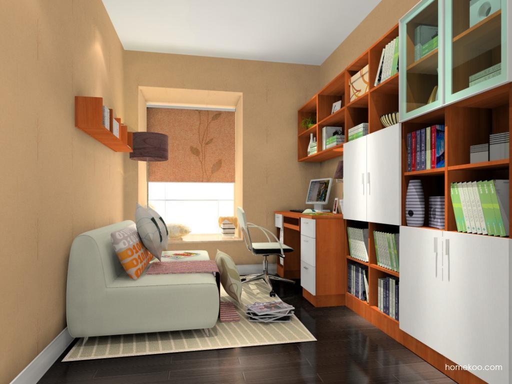 新实用主义书房家具C10843