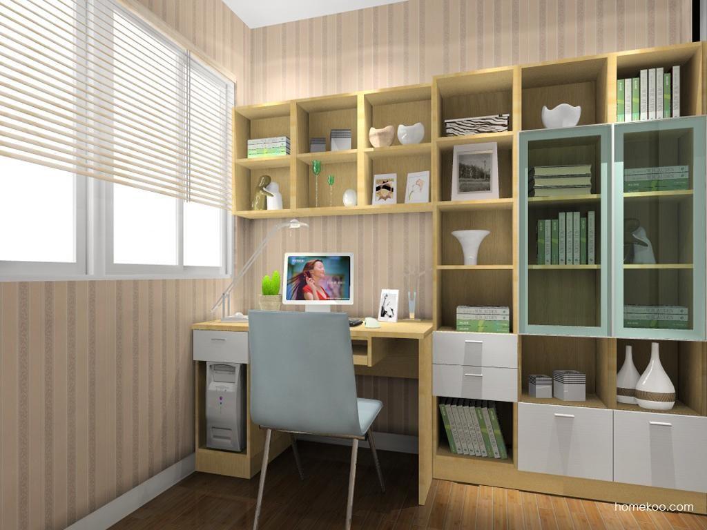 新实用主义书房家具C10845