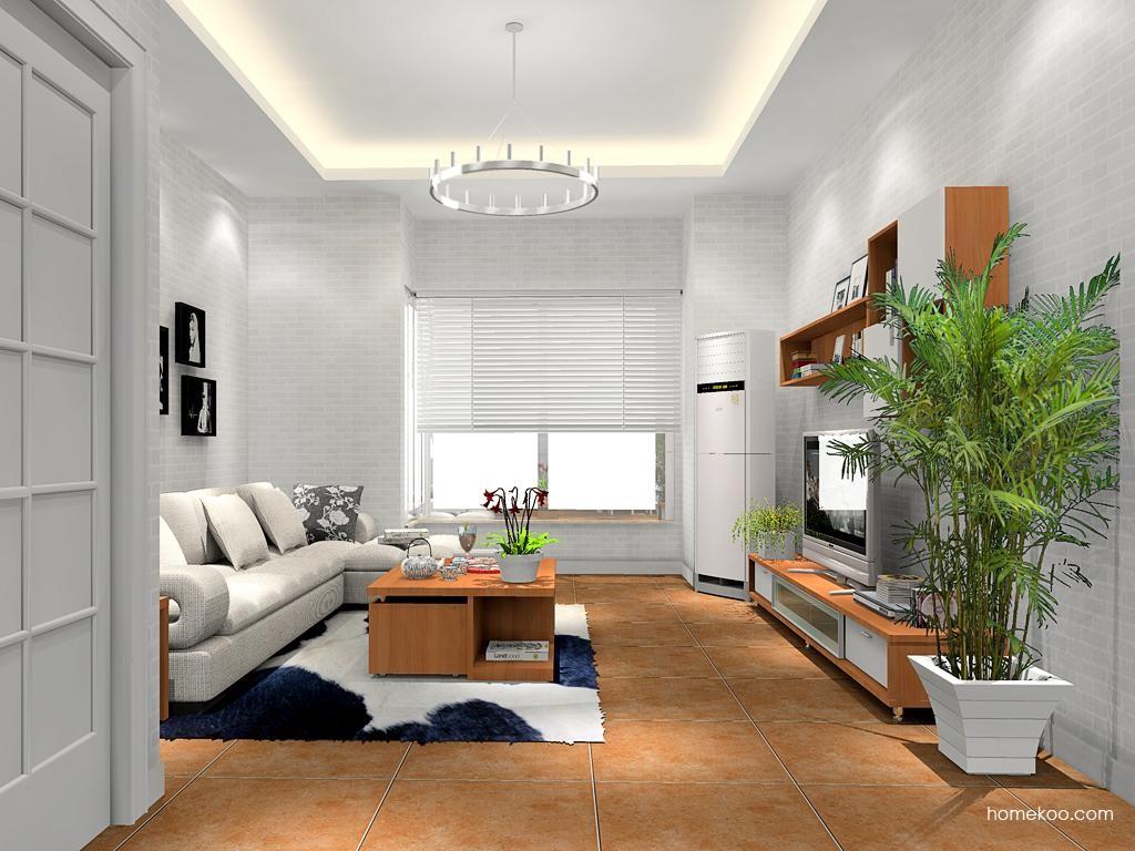 新实用主义客厅家具D11886