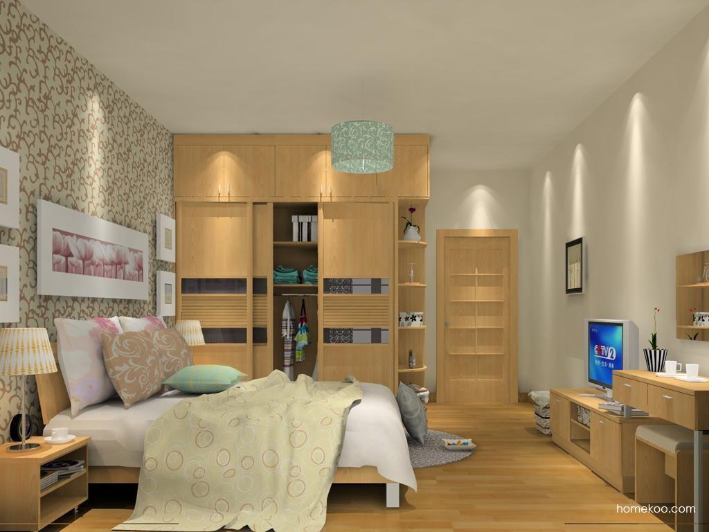 新实用主义卧房家具A13238