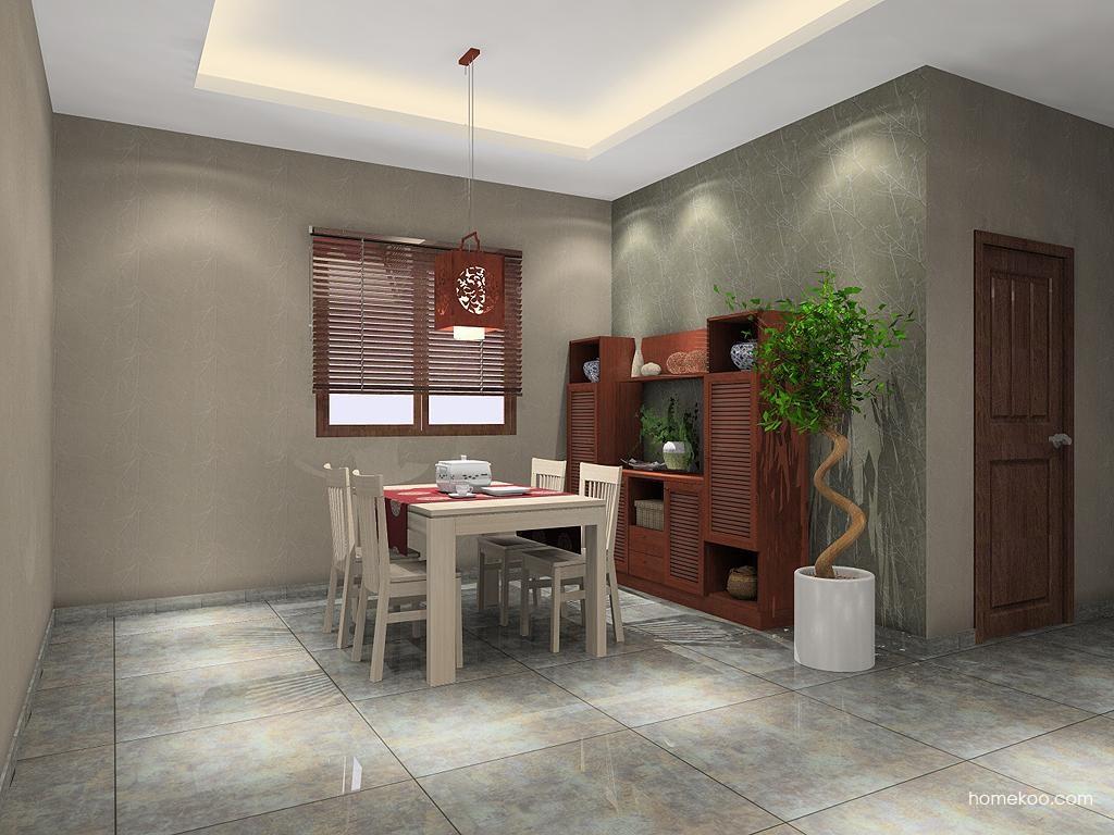 新中式主义餐厅家具E10064