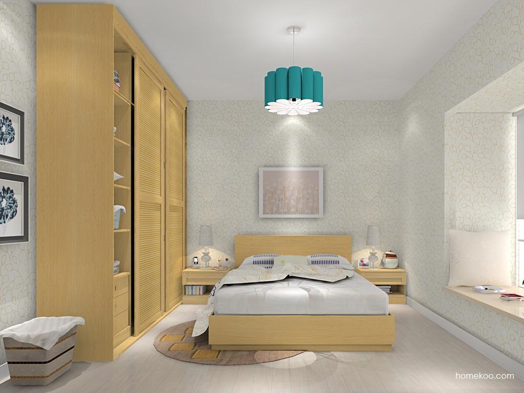 丹麦本色卧房家具A13262