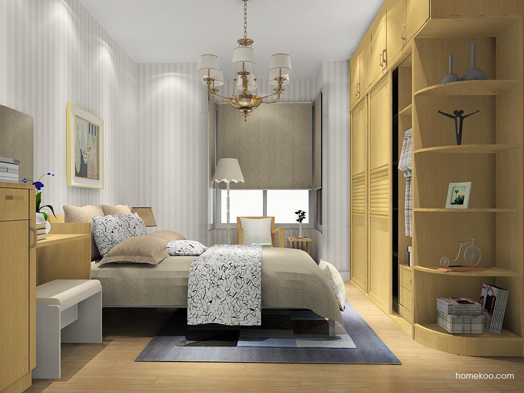丹麦本色卧房家具A13263