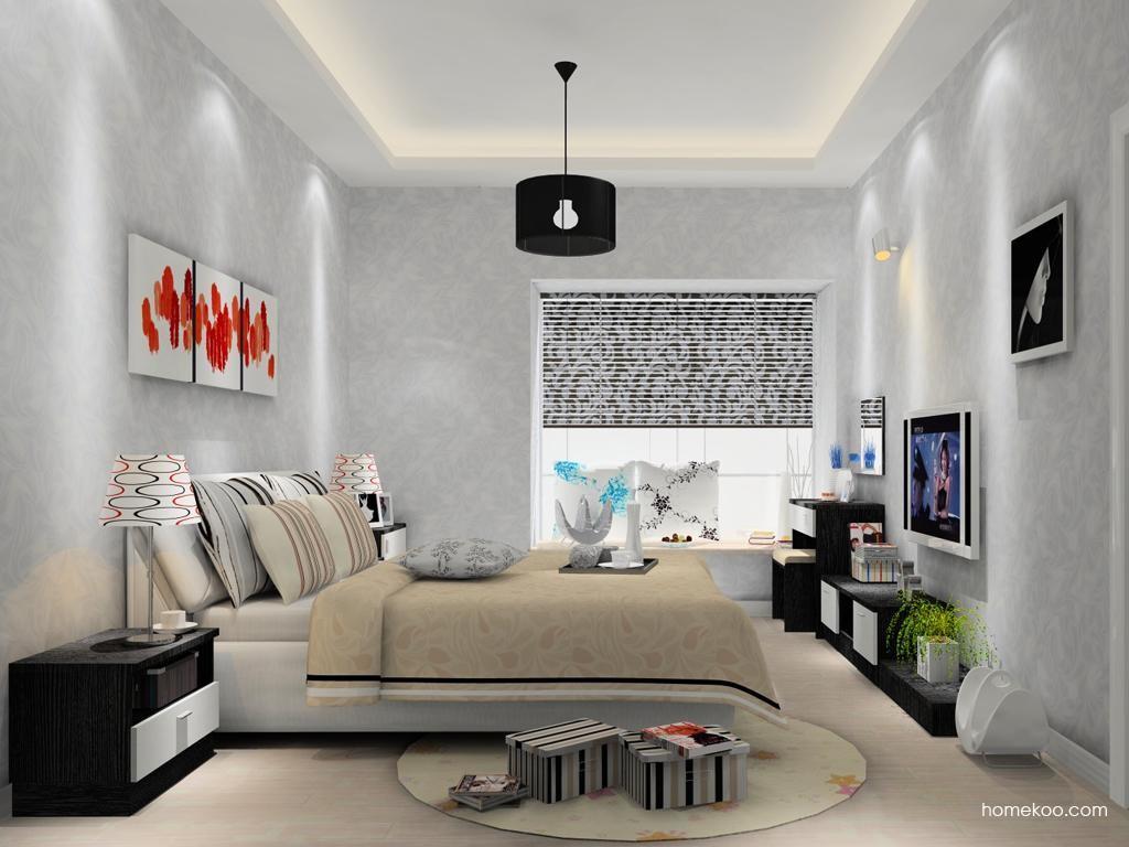 简约主义卧房家具A13279
