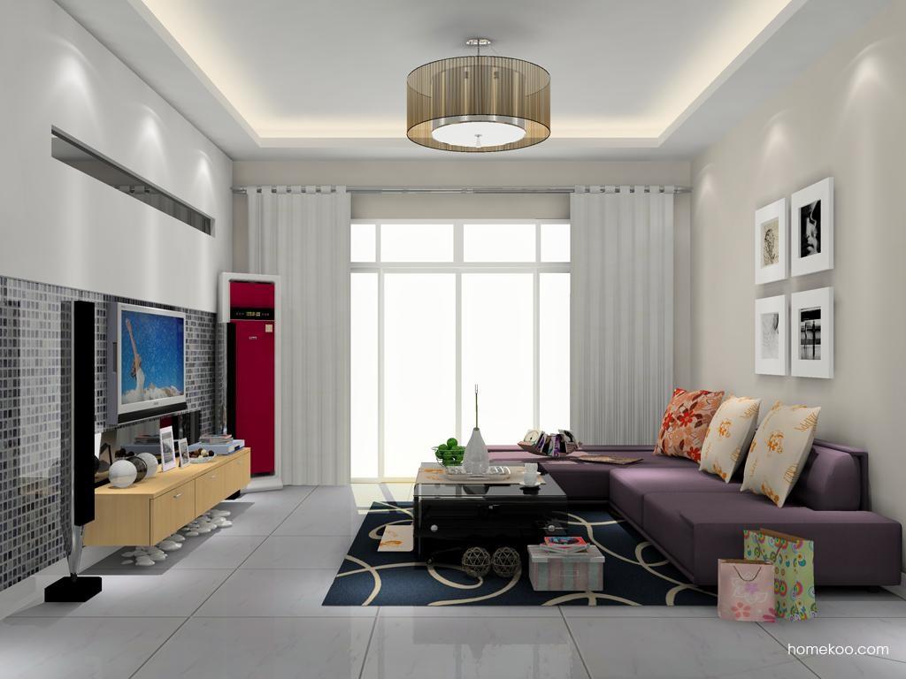 新实用主义客厅家具D11935