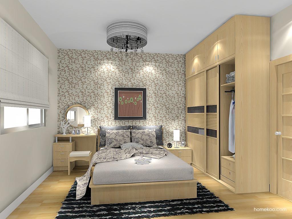 新实用主义卧房家具A13309