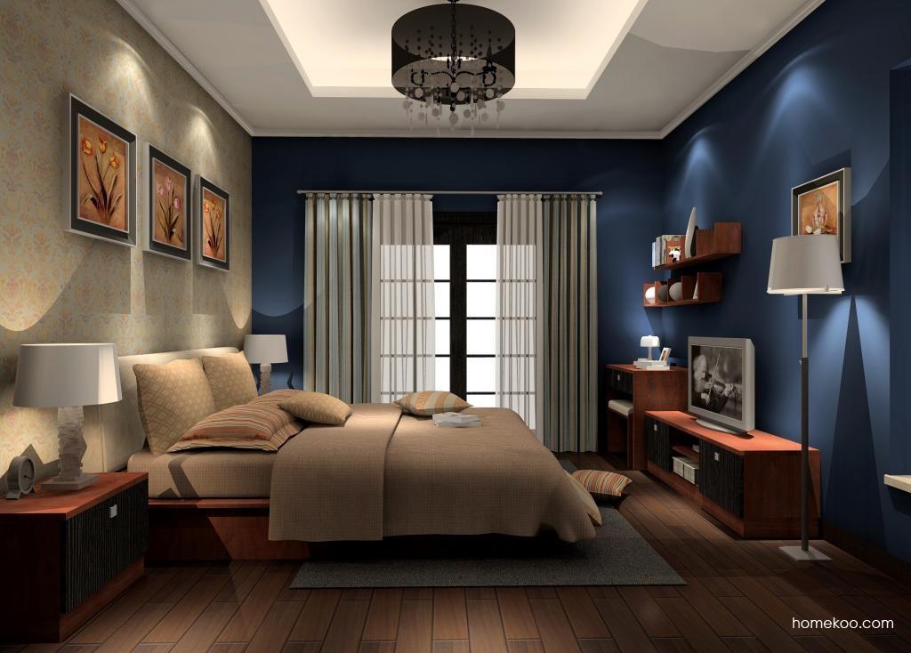 新实用主义卧房家具A13315
