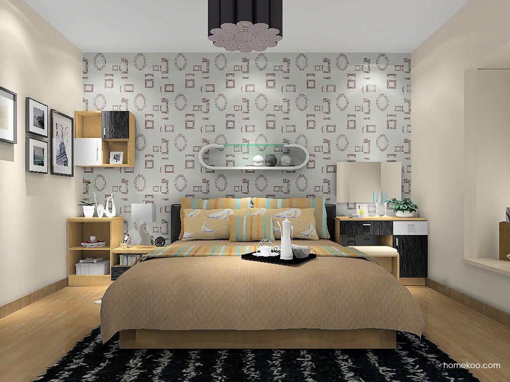新实用主义卧房家具A13320