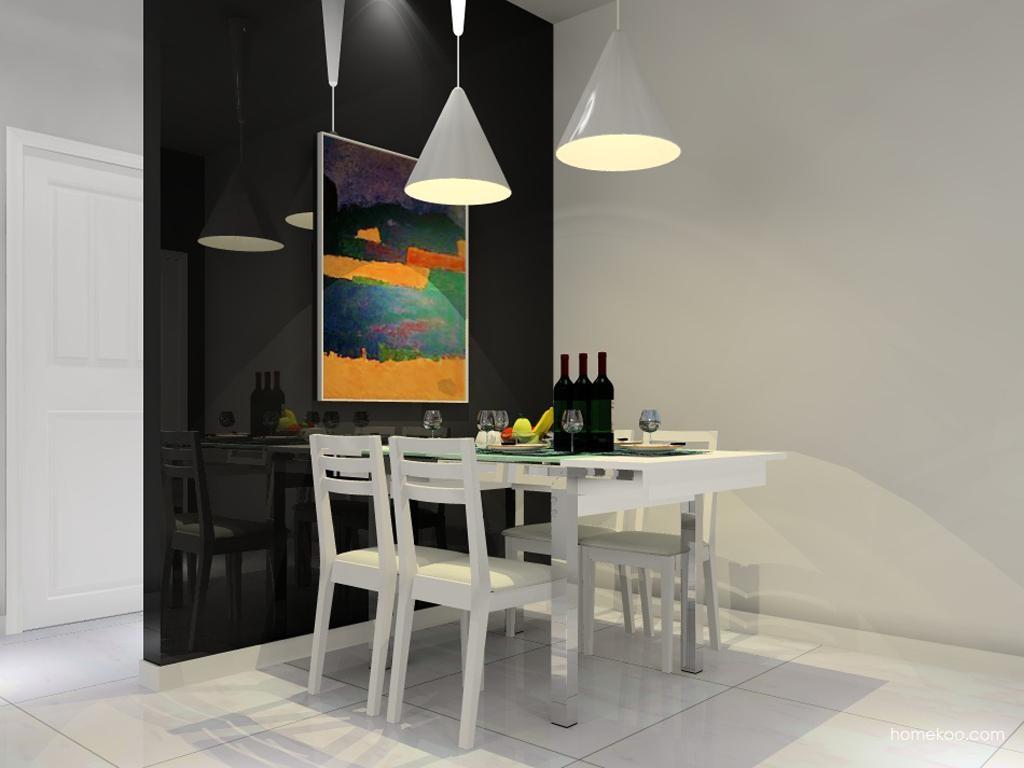 新实用主义餐厅家具E10184
