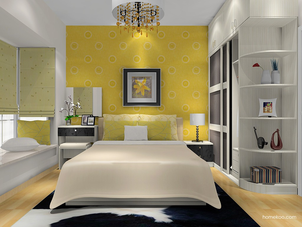 米兰剪影卧房家具A13351