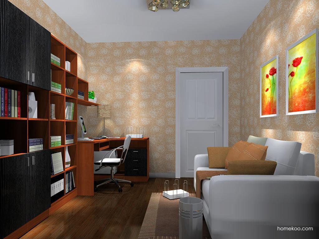 新实用主义书房家具C10871