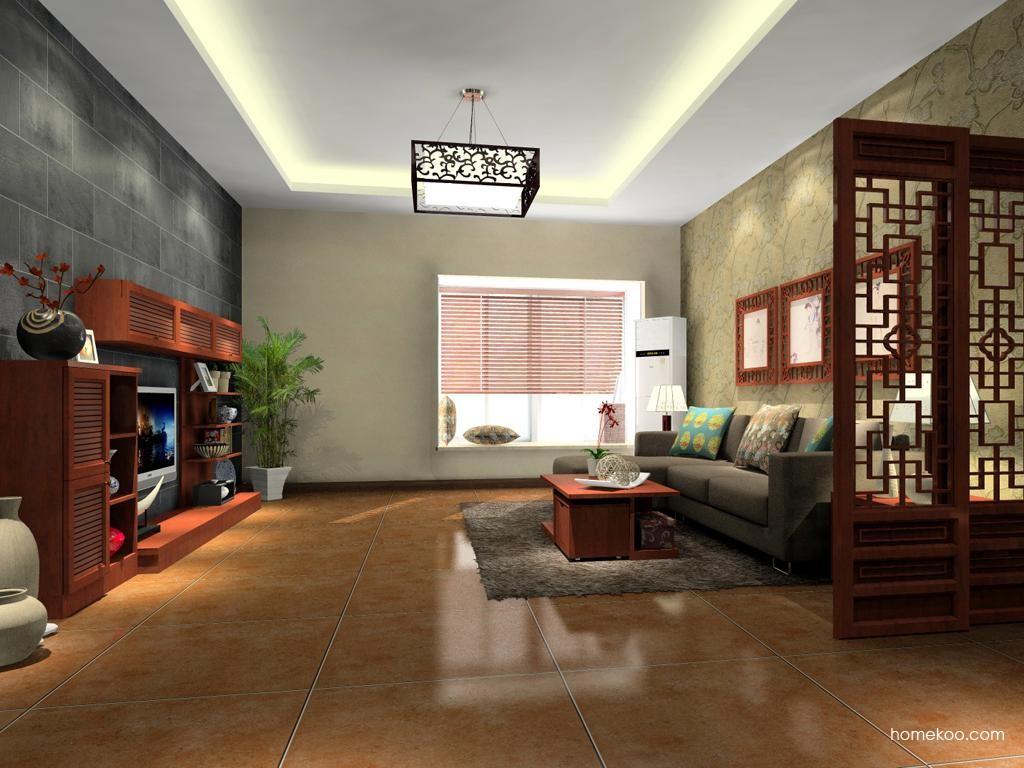 新中式主义客厅家具D12033