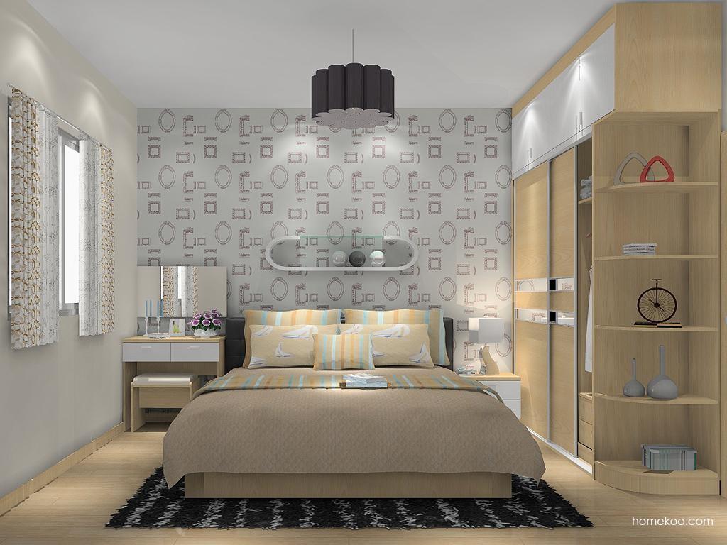 新实用主义卧房家具A13388