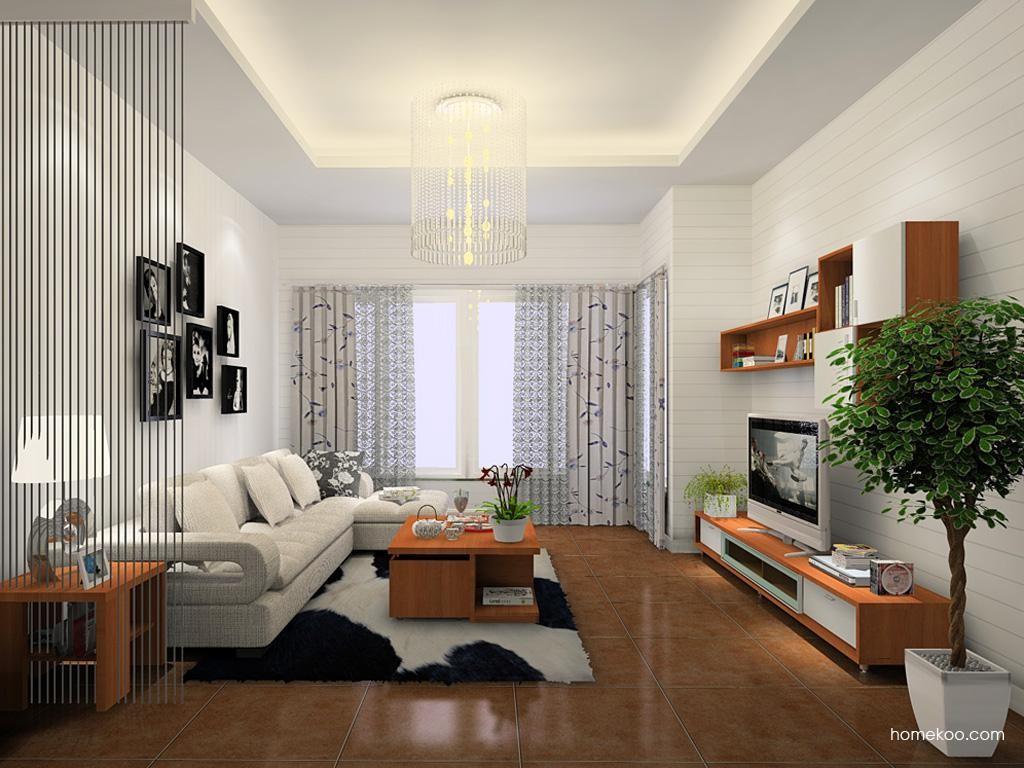 新实用主义客厅家具D12064
