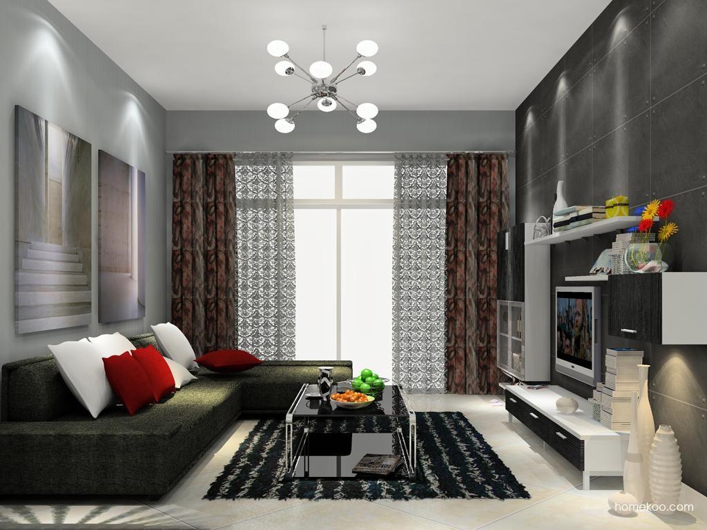 简约主义客厅家具D12067