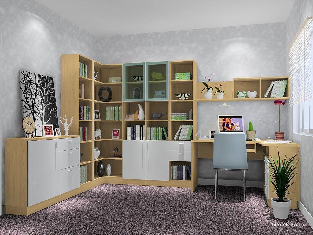 新实用主义书房家具C10885