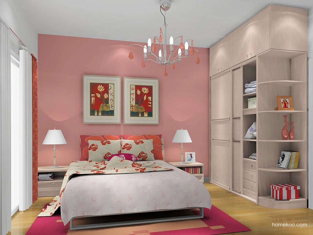 北欧阳光卧房家具A13467