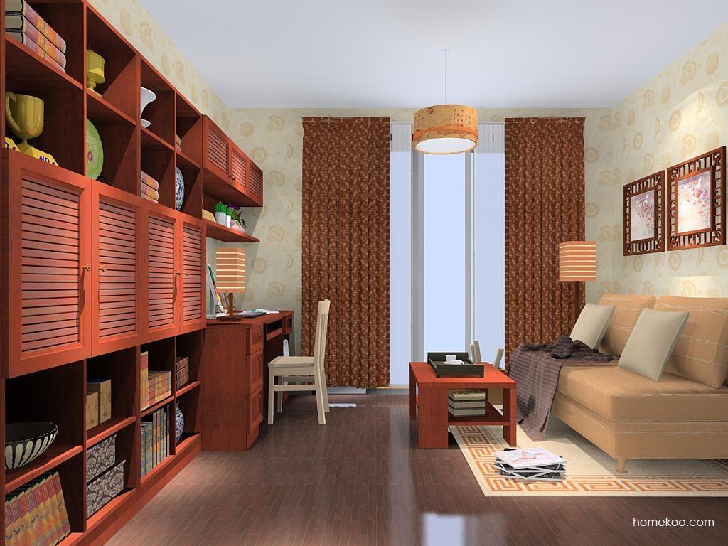 新中式主义书房家具C10922