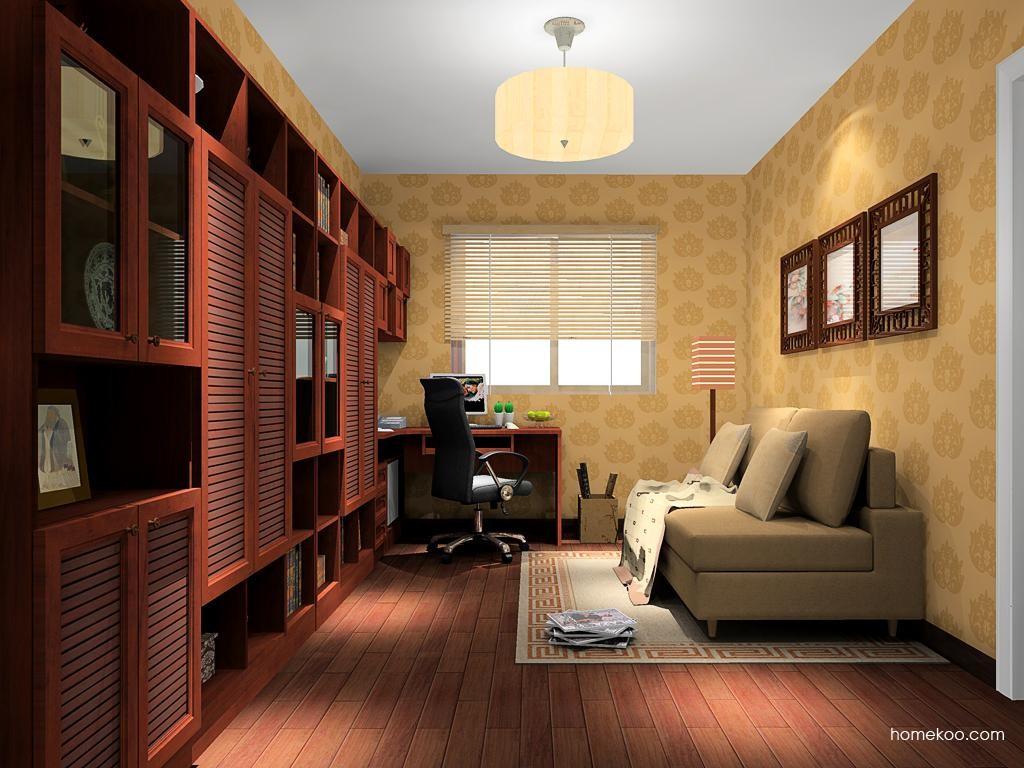 新中式主义书房家具C10925