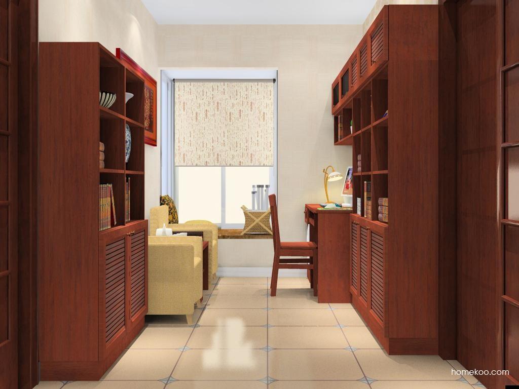 新中式主义书房家具C10928