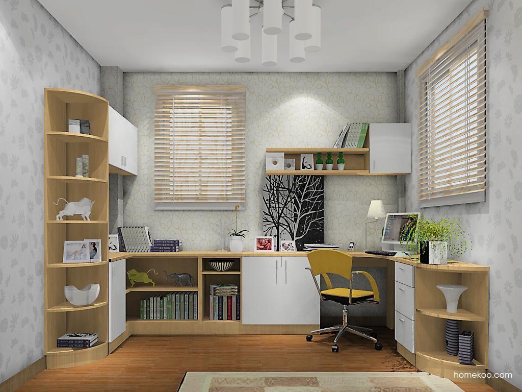 新实用主义书房家具C10938