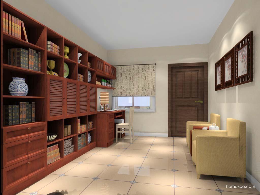 新中式主义书房家具C10942